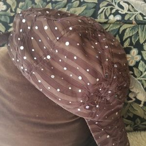 Glam sequined cap